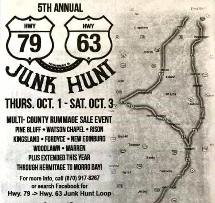 Junk Hunt Arkansas 2020