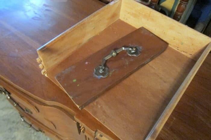 drawer needs repair
