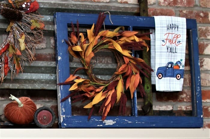 how to decorate with old window frames