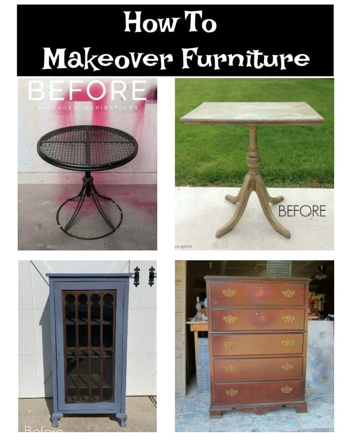 how to makeover furniture