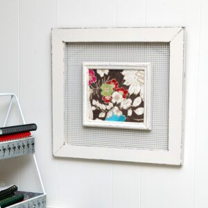 how to paint old picture frames