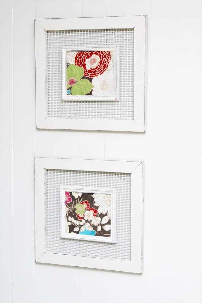 how to paint picture frames and frame new art