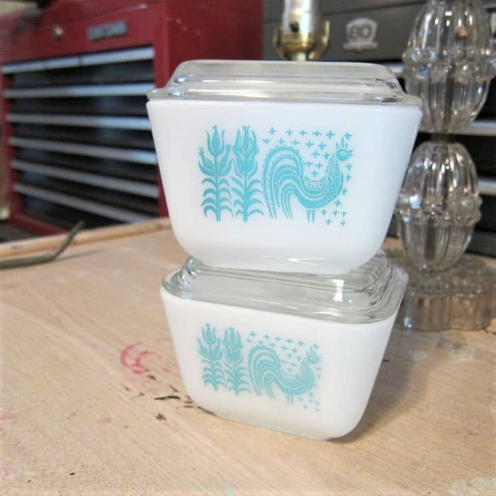 vintage pyrex finds from the Junk Hunt Yard Sale Hwy 79 Arkansas (2)