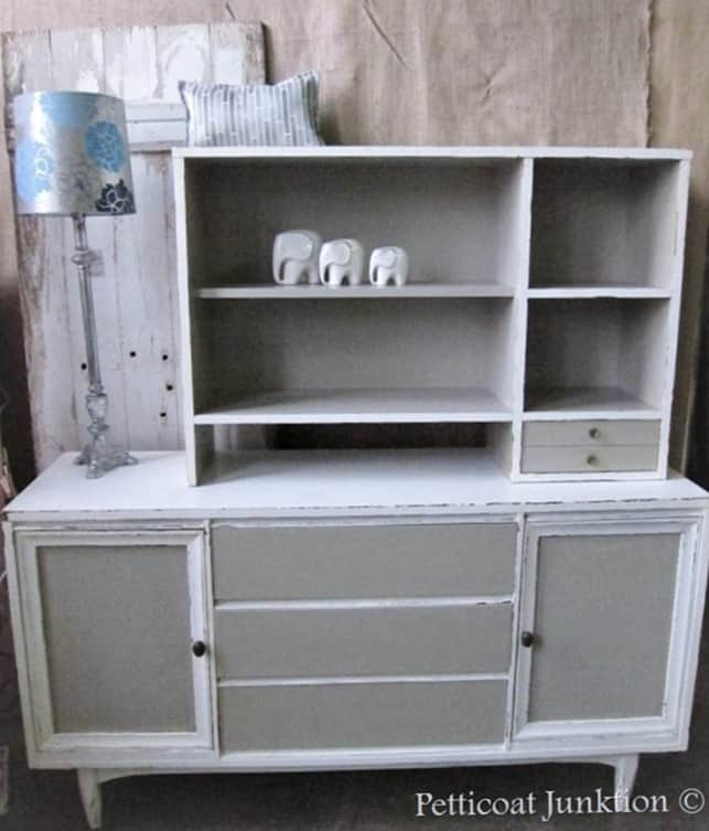 vintage sideboard with hutch