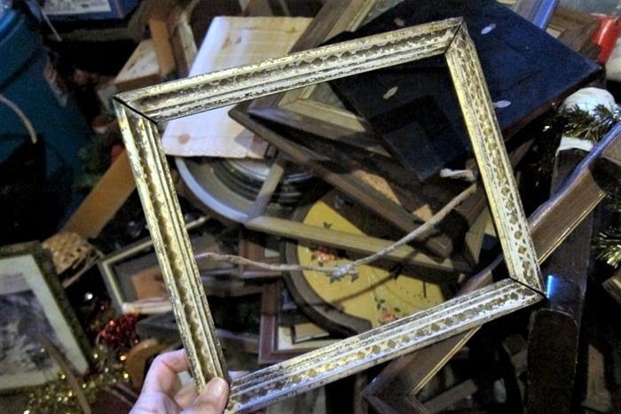 vintage wood frame (2)