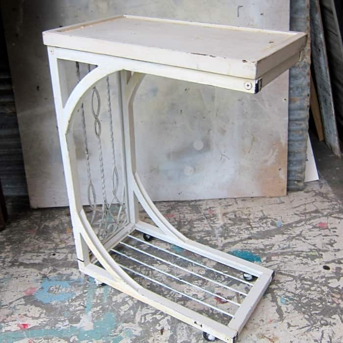 white table, Paint Ideas For My Latest 8 Furniture Buys