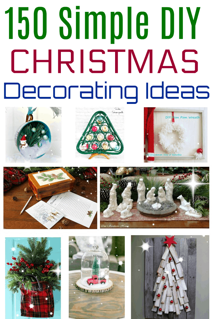 150 Christmas decorating ideas for your home 2020