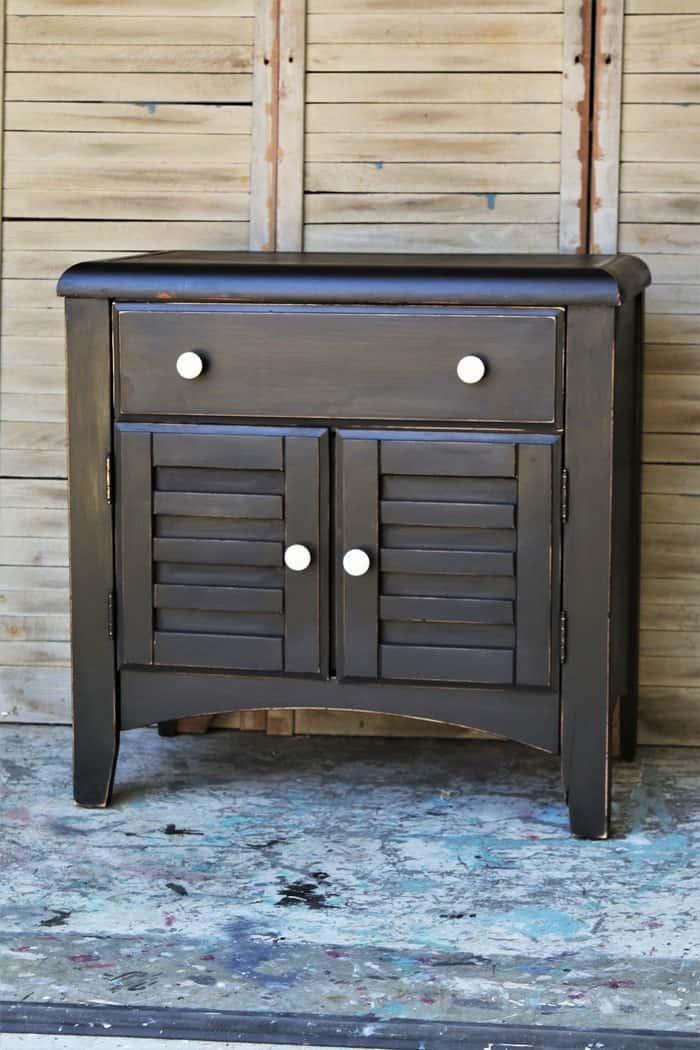 Paint Furniture This Color, black