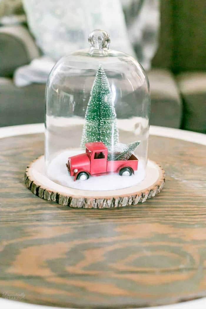 VINTAGE CHRISTMAS WONDERLAND CLOCHE Domestically Speaking