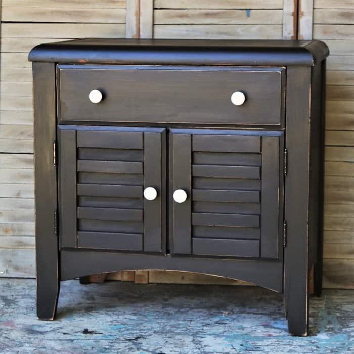 black, paint furniture this color
