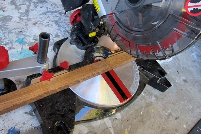 cutting wood for furniture repairs