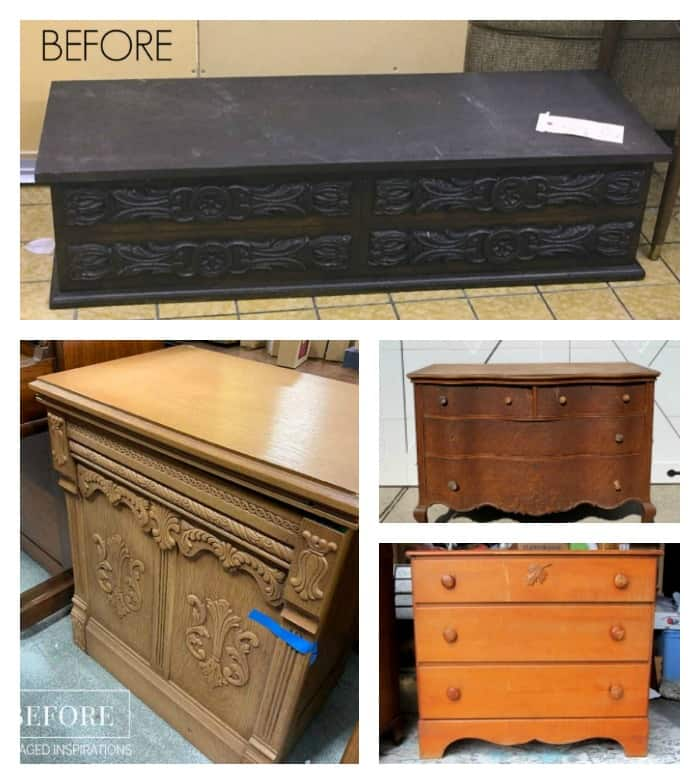 furniture fixer upper painted furniture projects before makeovers