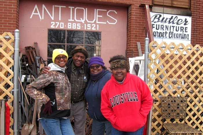 Butler family Hopkinsville Kentucky at Butlers Antiques