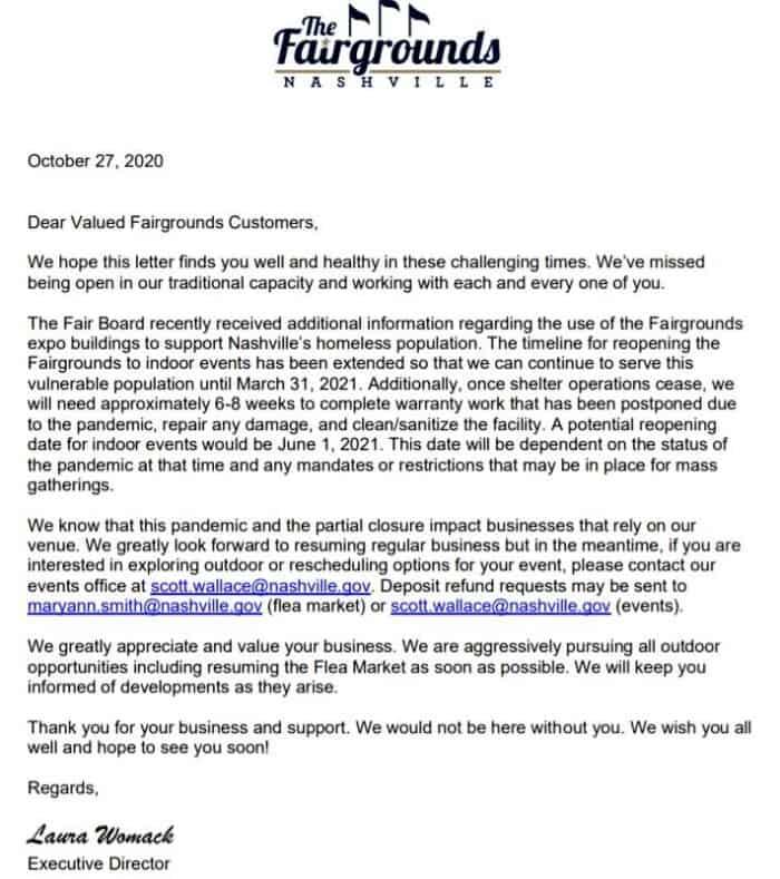 Nashville Flea Market letter (2)