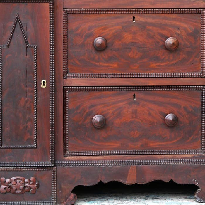 Saving Antique Furniture From Paint Makeovers