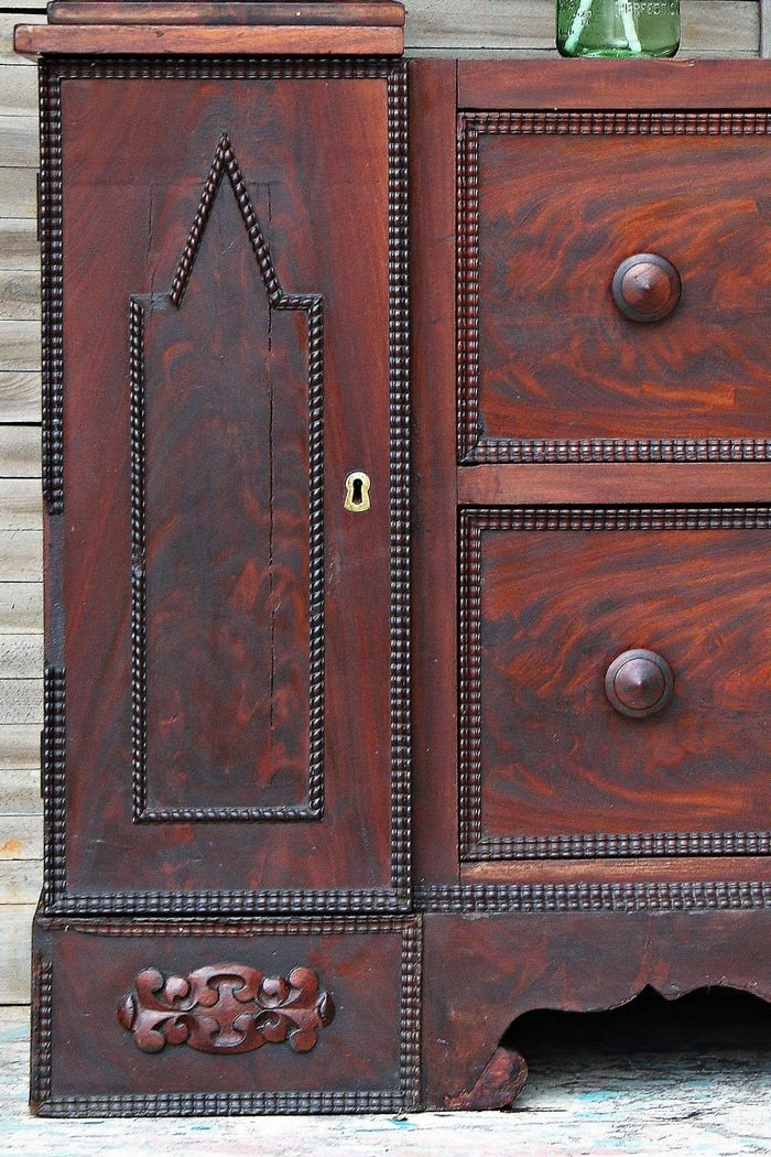 Saving Antique Furniture From The Paint Brush
