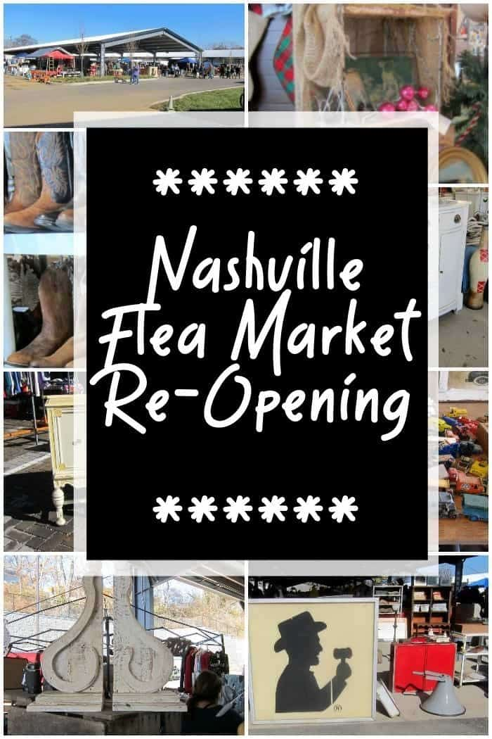 The Nashville Flea Market is Re-Opening in 2021