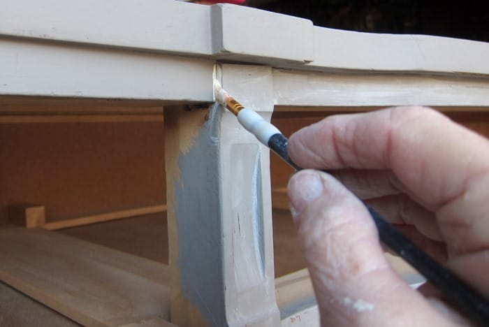special paint technique for furniture makeovers