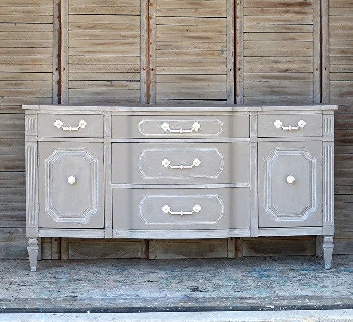 vintage sideboard special paint technique for better furniture makeovers