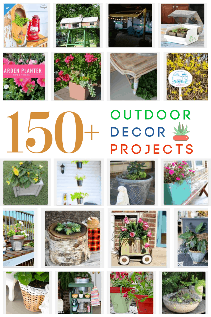 150 DIY Outdoor Decorating Ideas on a Budget