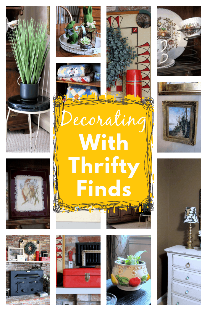 Decorating your home with thrifty finds from junk stores and flea markets