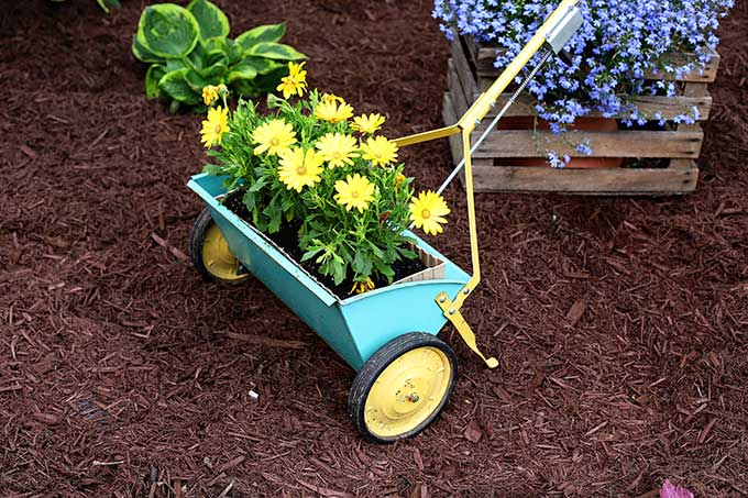 House of Hawthornes thifty planter idea, 150 DIY Outdoor Decorating Ideas On A Budget