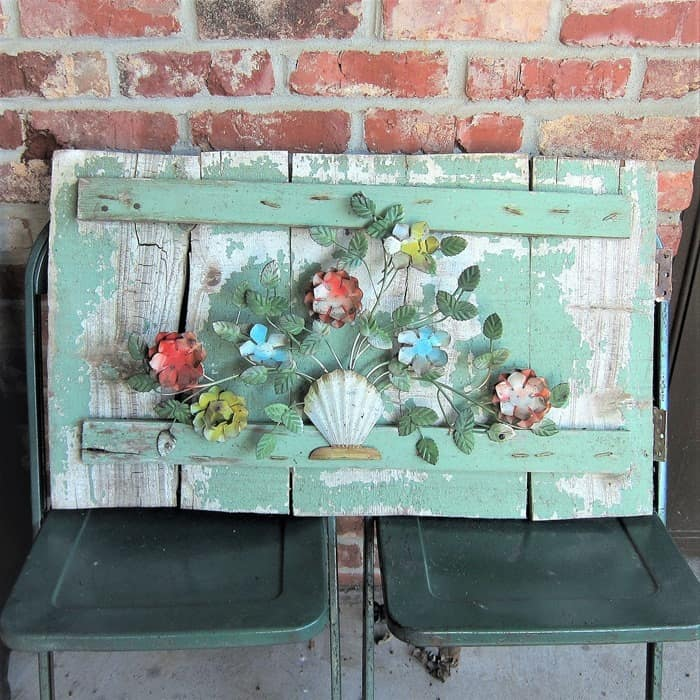 How To Create Unique Garden Decor Using Vintage Metal Flowers
