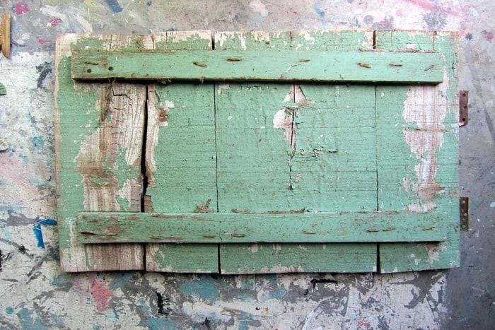 antique wood cabinet door