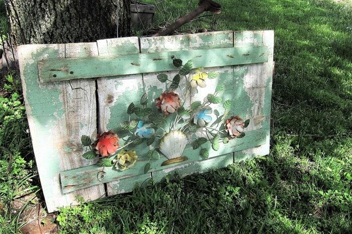 how to make garden art