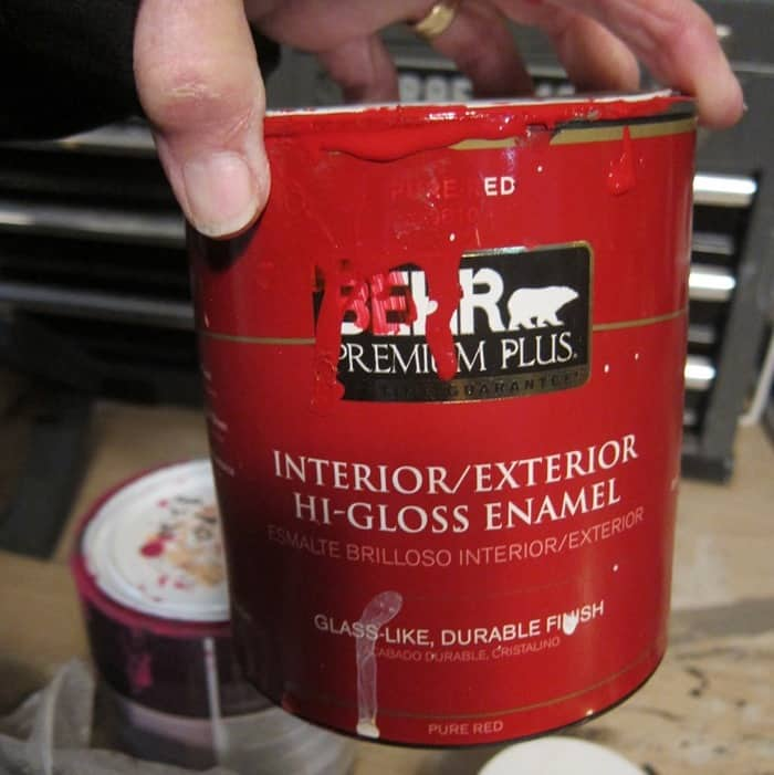 Behr paint red