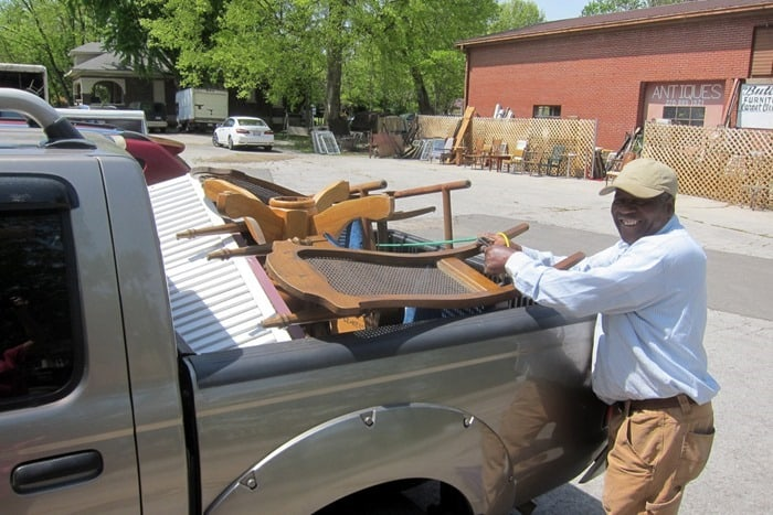 Mr. Butler owner of my favorite junk shop in Hopkinsville Kentucky