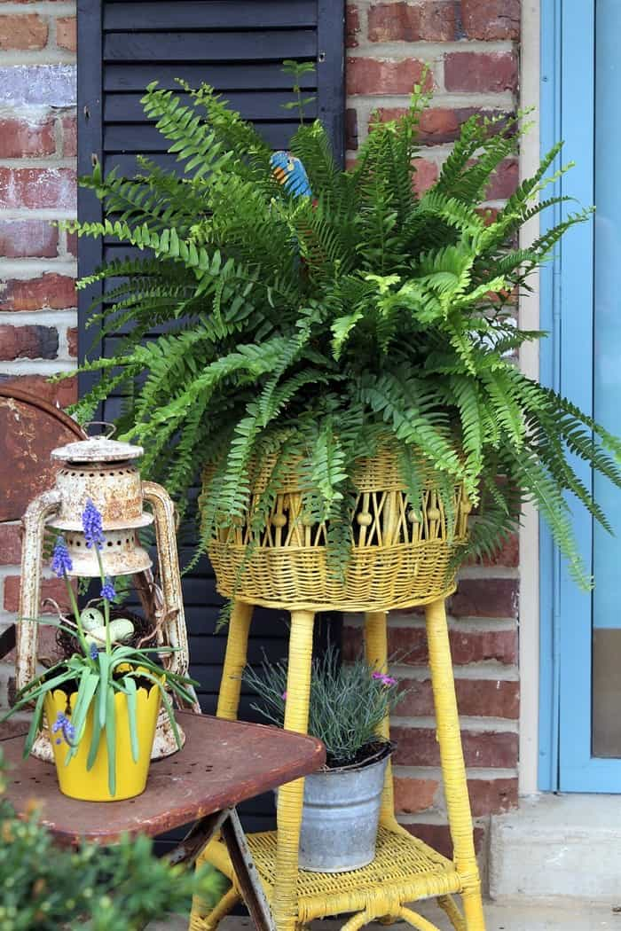 front porch decor for Spring (12)