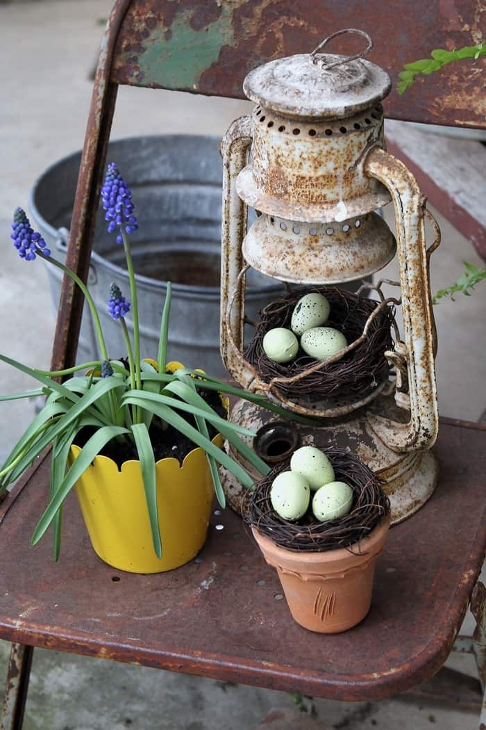 front porch decor for Spring (6)