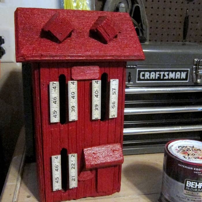 wood butterfly house paint makeover (14)