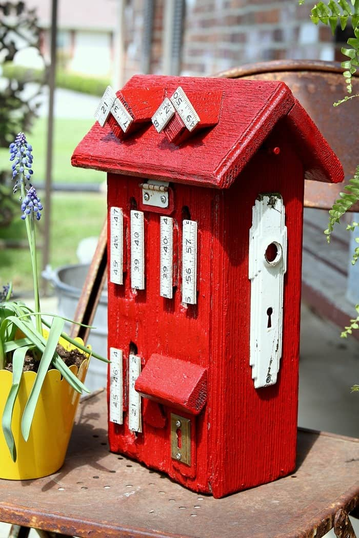 wood butterfly house paint makeover (18)