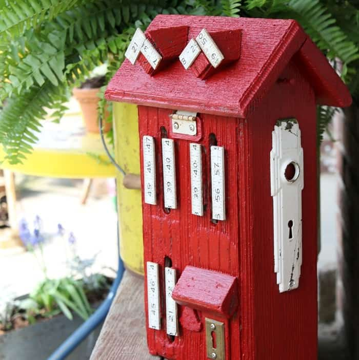 wood butterfly house paint makeover (1)