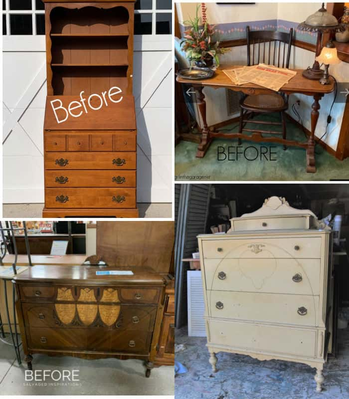 Furniture Fixer Uppers before photo