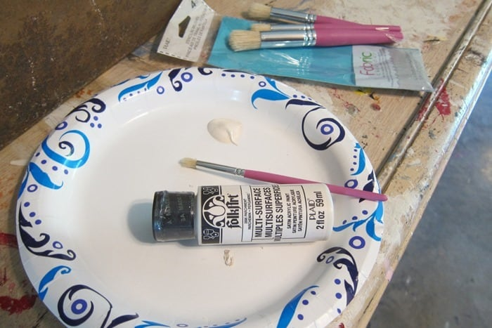 stencil supplies for project