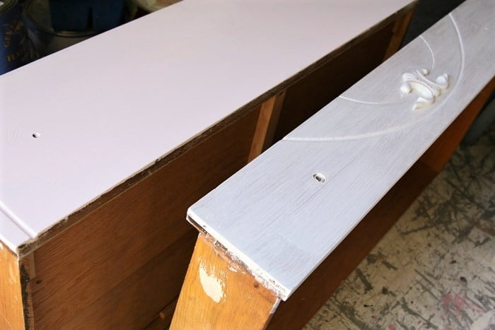 primer and paint for furniture makeovers