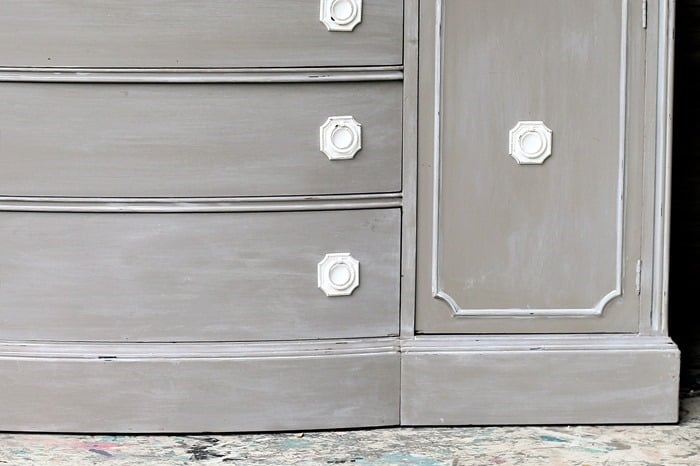 how to paint old furniture to look new and modern