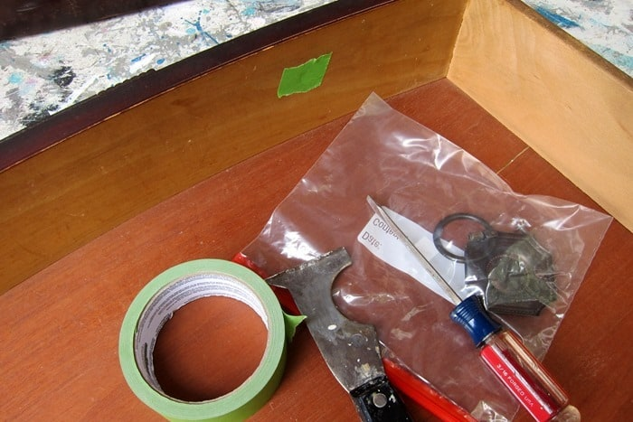 how to prep furniture drawers for painting
