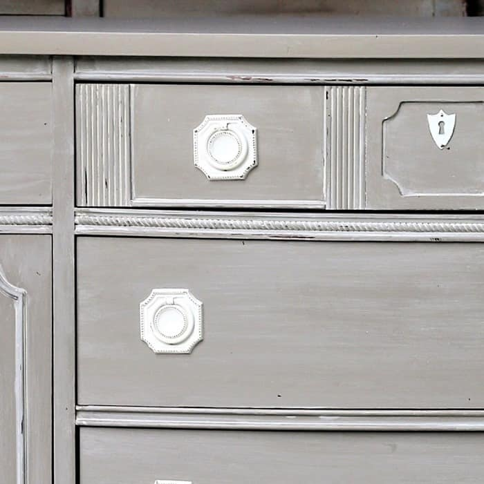 how to white wash painted furniture