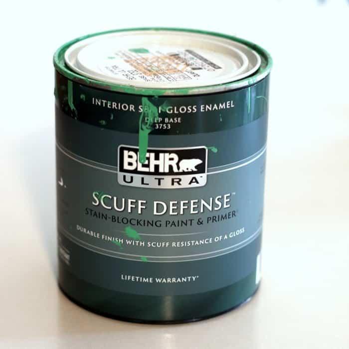 Behr Scuff Defense Paint color Basil Pesto