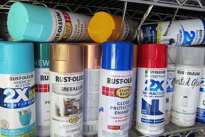 Rustoleum Spray Paint Colors