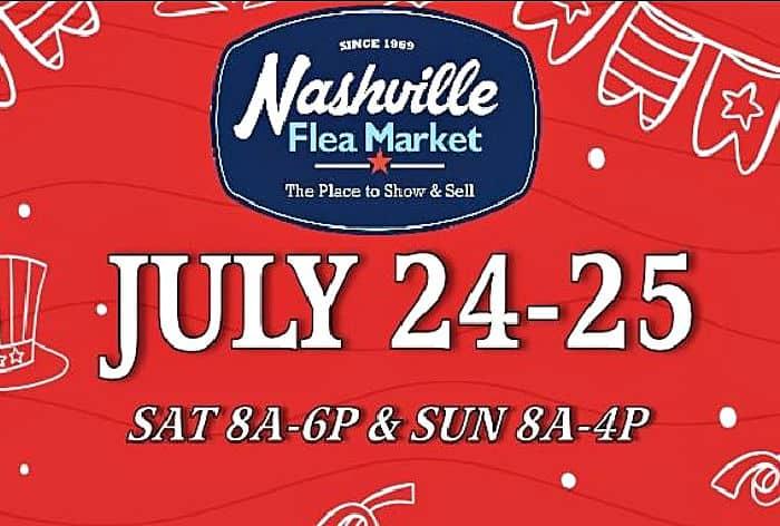 The Nashville Flea Market Is Re-Opening 2021