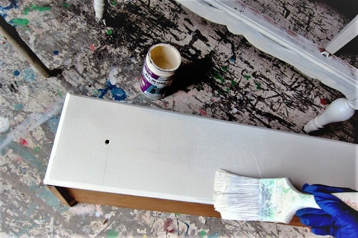 painting furniture with Beyond Paint