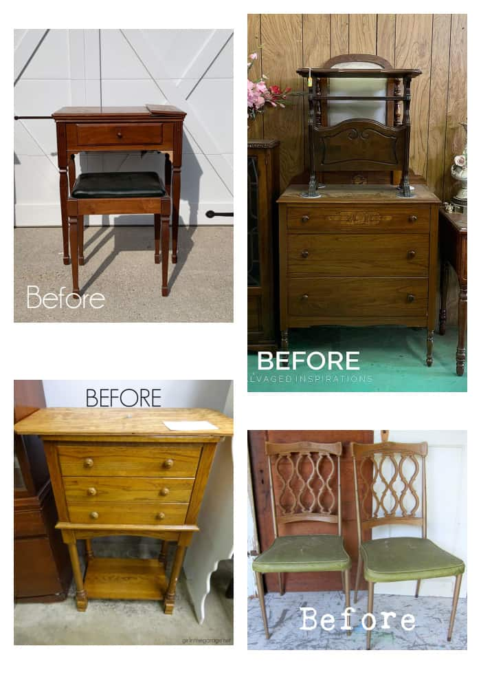 furniture makeovers before photo