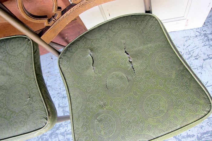 vintage leather chair seats