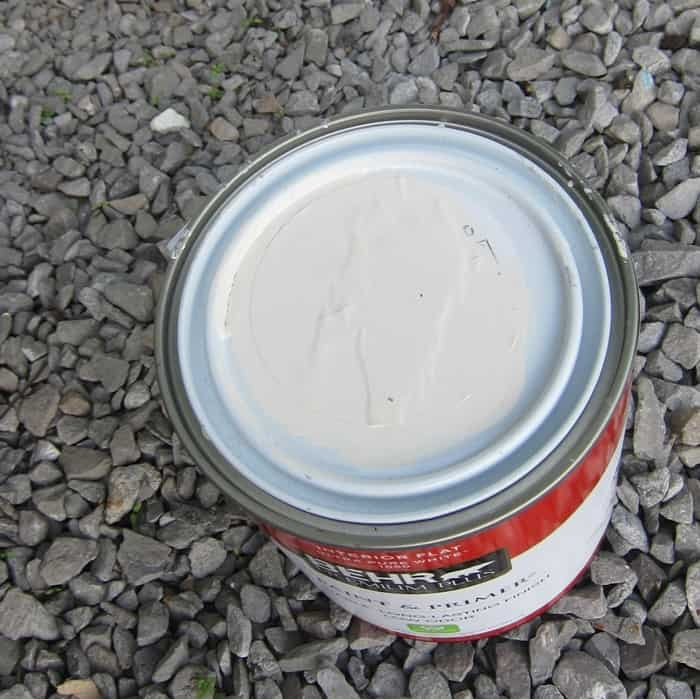 Behr oops paint from Home Depot
