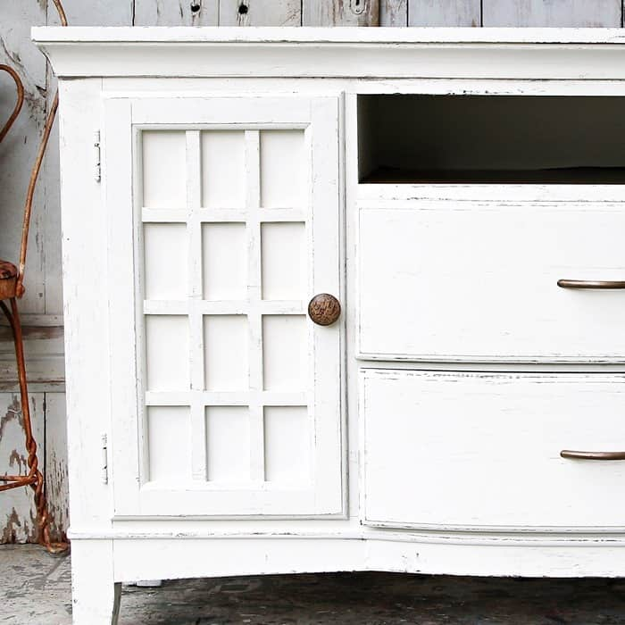 How to paint fake wood furniture